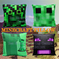 Newest Minecraft stuffed dolls minecraft creeper pillow  plush toy minecraft enderman doll birthday party chritmas gifts