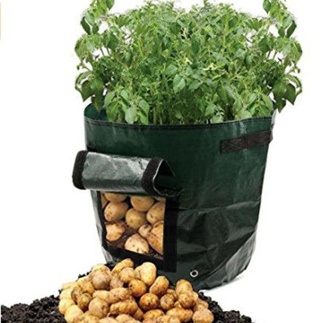 aliexpress: acheter 2 pcs/lot mobile cultiver planter sac