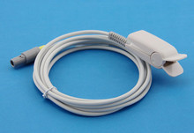 GOLDWAY 4000B Adult Finger Clip SpO2 Sensor Pulse Oximetry Probe, Redal 5 Pins 3M Cable