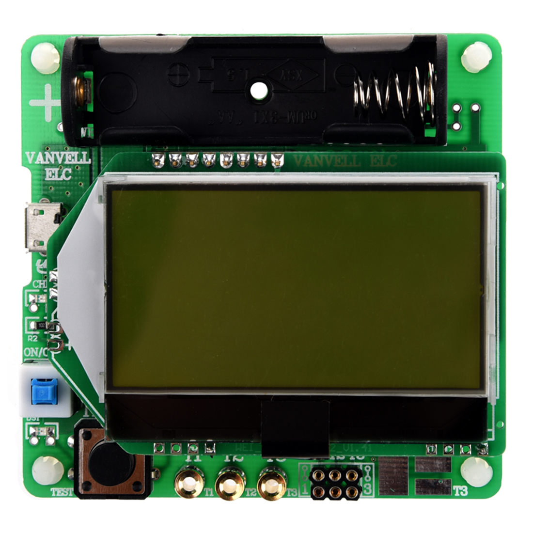 WSFS Hot Sale M328 multifunctional tester capacitance diode paid transistors inductor ESR LCR meter with USB interface Green  цены