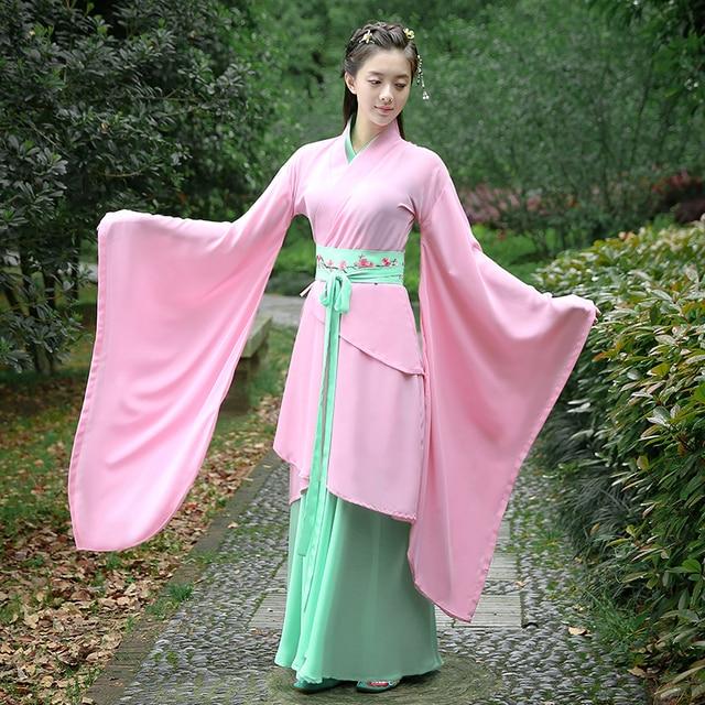 חדש שמלת Cosplay תלבושות תלבושות סיניות עתיק הסיני מסורתי Hanfu תלבושות עתיקות שושלת טאנג Hanfu נשים שמלות