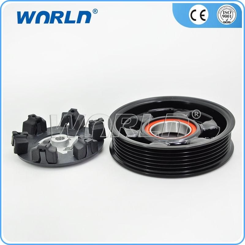 BMW OEM Belt A//C AC Climate Compressor 4K X 824-844 E60 E63 E64 E65 E66 E90N 545i 550i 550i 645Ci 650i 650i 645Ci 650i 650i 745i 750i ALPINA B7 745Li 750Li 335d