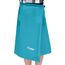 Safety Survival Outdoor Tool 15D Nylon Rain Skirt Cover Thin Rain Skirt Waterproof Kilt Rain Pants Packable Windbreak Kilt Skirt(China)