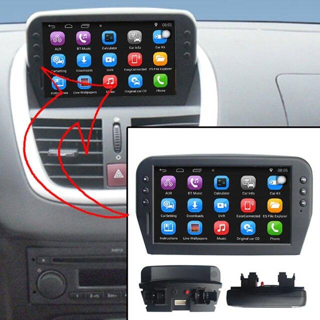 7 pouce capacit cran tactile lecteur multim dia de voiture pour peugeot 207 gps navigation. Black Bedroom Furniture Sets. Home Design Ideas