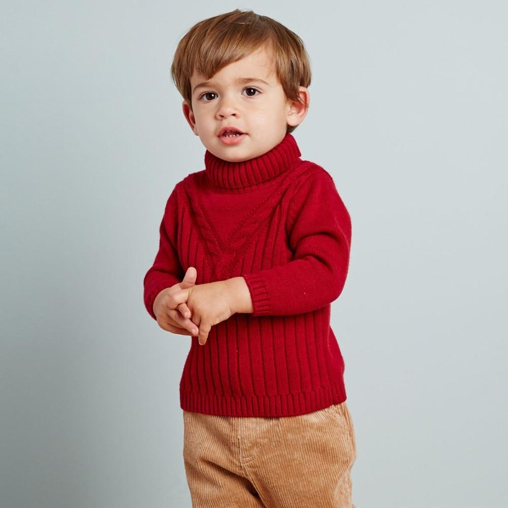 dbf4c6421f30 DB2315 dave bella autumn winter baby boy turtleneck sweater infant ...