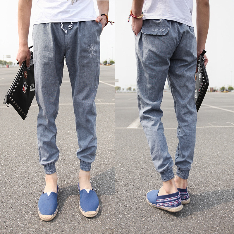 Aliexpress.com : Buy Men Pants Summer Style New 2015 Fashion Men ...