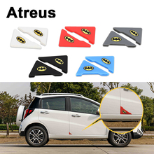 Фотография Atreus 2pcs Car Door Corner Crash Protection Cover Stickers For BMW e46 e39 e36 Audi a4 b6 a3 a6 c5 Renault duster Lada granta