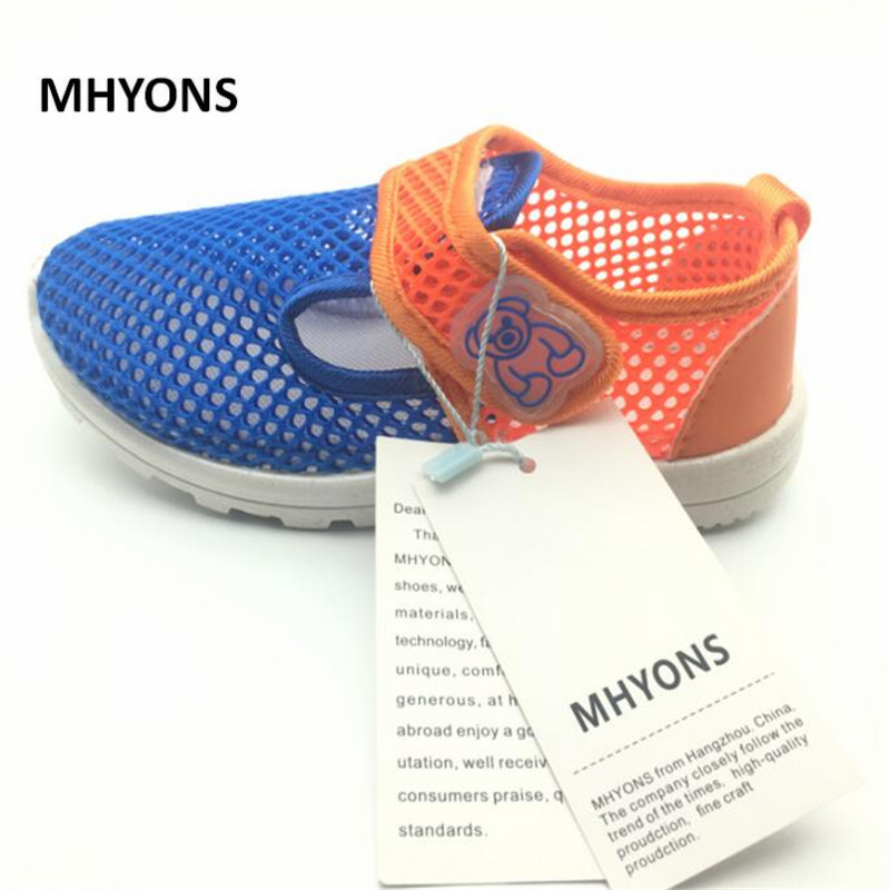 6e3cec12 MHYONS Children Shoes Girls Boys Casual Shoes Summer Fashion Candy Color  Breathable Mesh Kids sandals Shoes Boys Girls Sneakers-in Sandals from  Mother ...