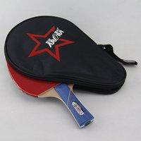 軽量1ピースプロフェッショナルshakehand卓球ラケットロングハンドル屋内ジムスポーツピンポンパドルのための競争