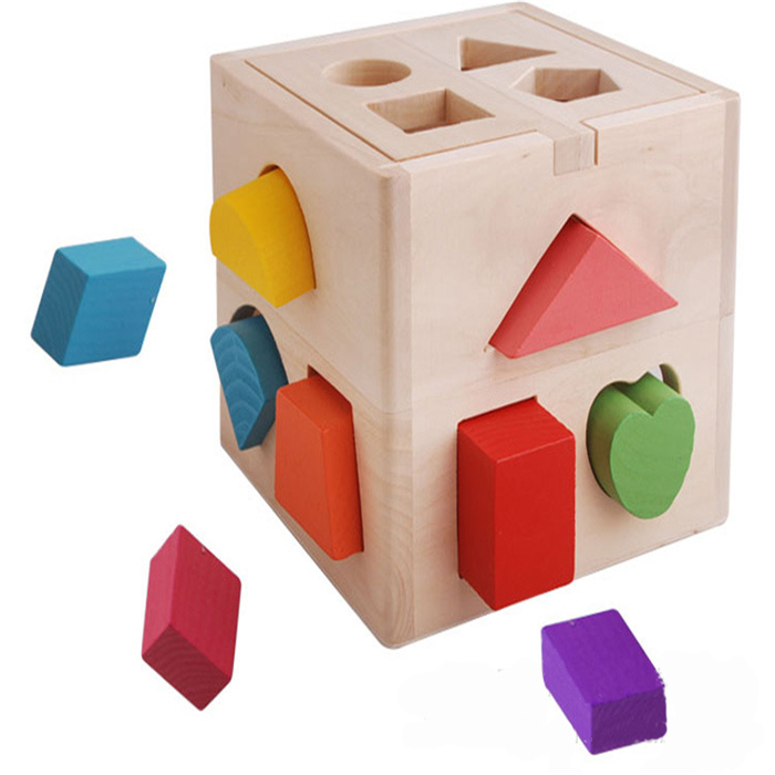 Wooden Educational Toys Children Toys Thirteen Hole