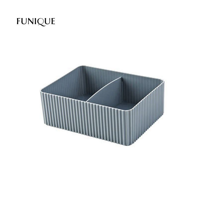 FUNIQUE Cosmetic Storage Box Skin Care Products Small Boxes Desktop Rectangular Storage Finishing Boxes Storage Holders