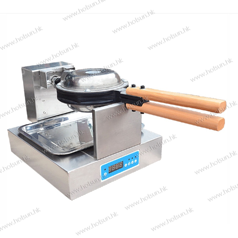 220V Commercial Digital Electric Eggettes Egg Waffle  Maker Iron Machine directly factory price commercial electric double head egg waffle maker for round waffle and rectangle waffle