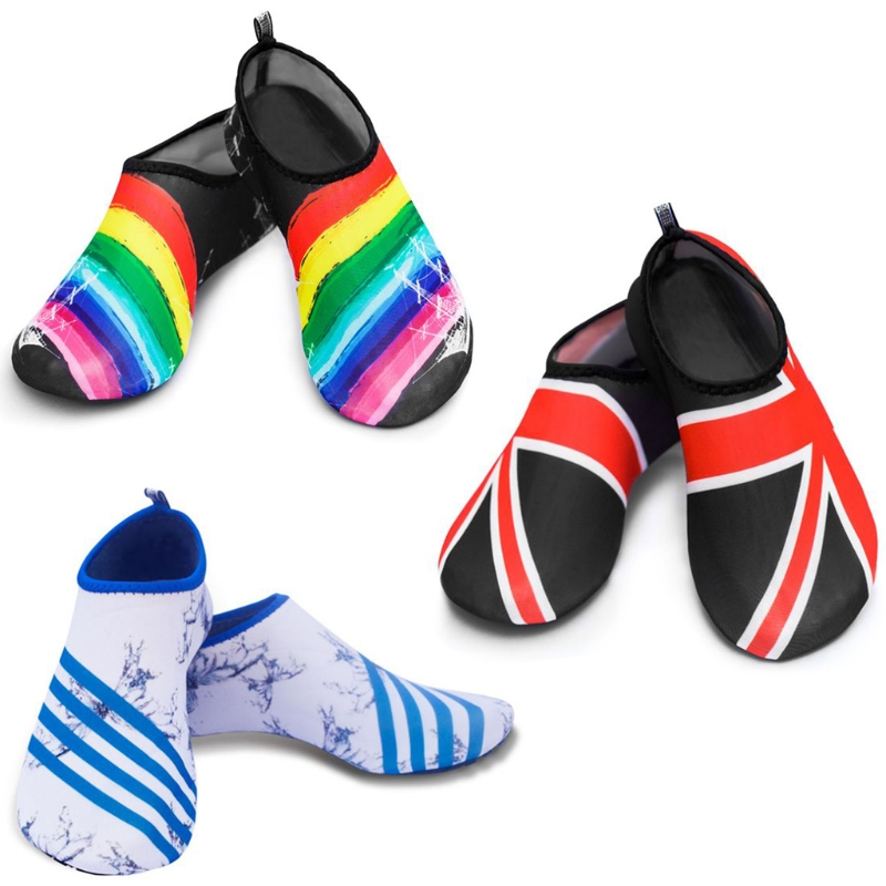Unisex Diving Snorkeling Socks Print Swimming Surf Beach Flexible Barefoot Shoes трусики подгузники pampers pants midi 6 11 кг 3 размер 120 шт