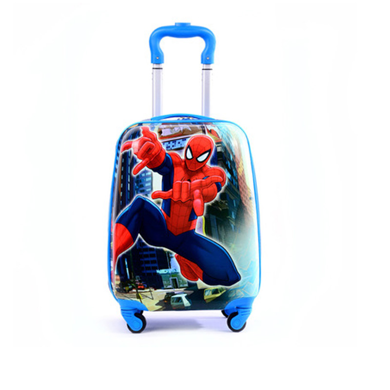2019 Cartoon Kids Travel Trolley Bags Suitcase For Kids Children Luggage Suitcase Rolling Case Travel Bag On Wheels suitcase