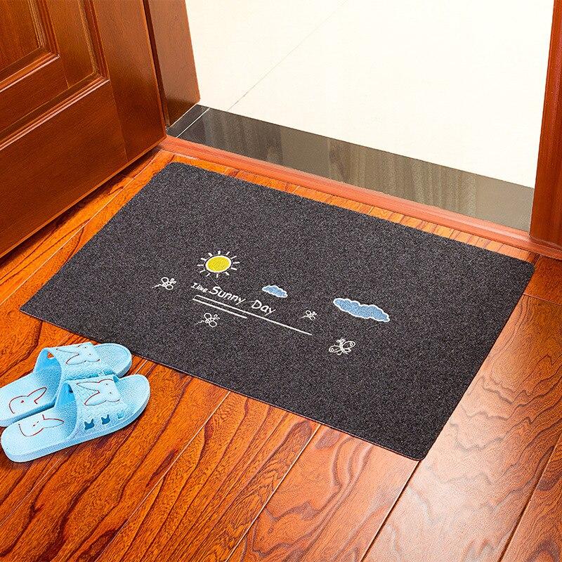 80*120cm Welcome Waterproof Door Mat Cartoon Cute Totoro Kitchen Rugs Bedroom Carpets Decorative Stair Mats Home Decor Crafts