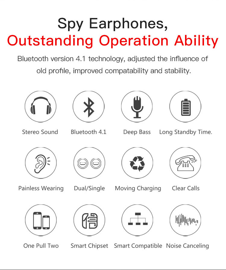 Original T12 Dual TWS True Wireless Bluetooth Headphones In-ear Stereo Music Headsets Invisible Earphone Hands-free Microphone_02