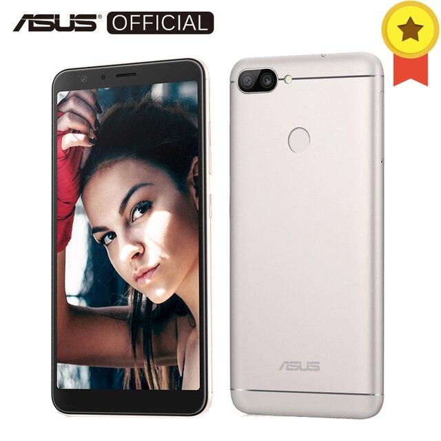 Asus Zenfone Max плюс (M1) 3 ГБ 32 ГБ 5,7 '18: 9 FHD + Экран mt6750t восемь ядер Android7.0 4130 мАч телефон OTG 3 слота Глобальный Версия