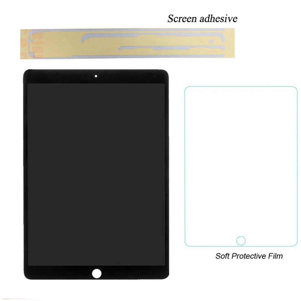 1 pièces 100% Nouveau et Travail Pour Apple iPad air 2 (Pour iPad 6) a1566 A1567 écran lcd Assemblée écran tactile Assemblée + Colle + Film