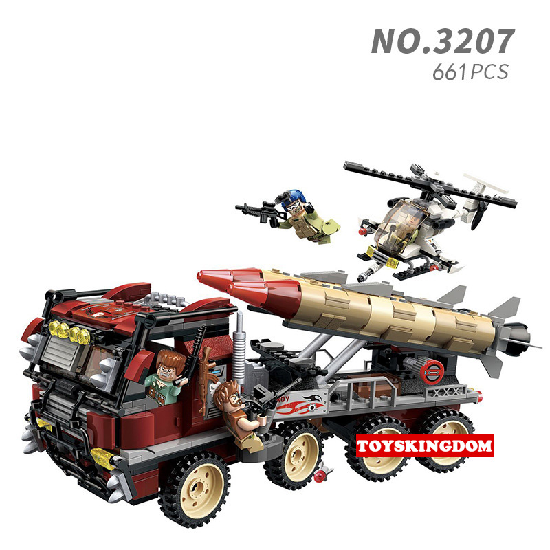 Toys & Hobbies Model Building Modern Military Batisbricks Minifigs Thunder Mission Super Weapon Appearance Missile Vehicle Block Ww2 Terroris Army Figures Toy Pretty And Colorful