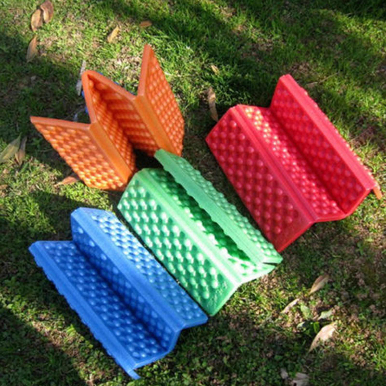 Opvouwbaar Opvouwbare Outdoor Camping Mat EVA Waterdichte Seat Foam Pad Stoel Picknick vochtbestendige Matras Strand Pad Camping Tool