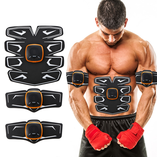 Rechargeable Abdominal Muscle Trainer For Press Sport Press Stimulator Absence Fitness Apparatus EMS Abdominal Fitness Equipment