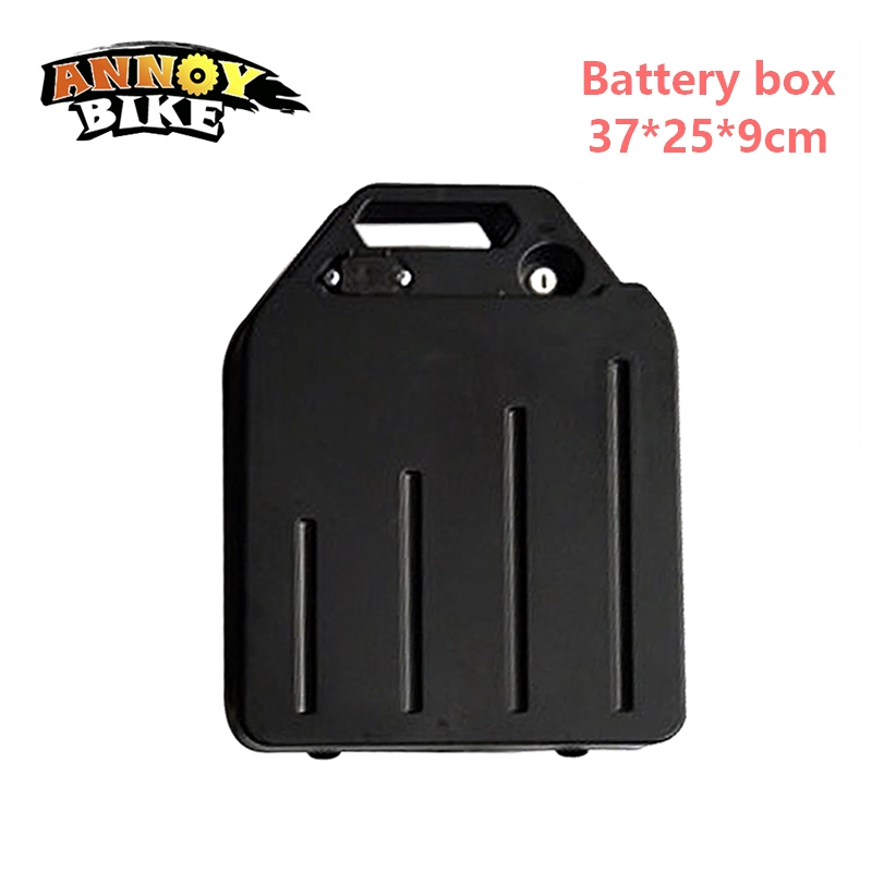 Battery case e bike waterproof lithium battery box bycicle accessories for harley scooter motorcycle electric bike Battery box