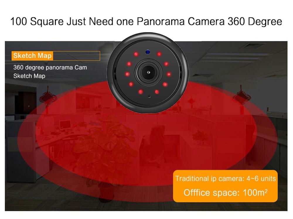 Wistino 960P Wireless IP Camera VR Mini WIFI Camera IR Night Vision Smart Home Security Camera Onvif Monitor Baby Monitor 2 (9)
