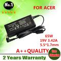 Wholesale 65W 19V 3.42A 5.5*1.7  Laptop Adapter AC Charge Power  for ACER Aspire TravelMate 600 to 663 720 to 740 800 Series