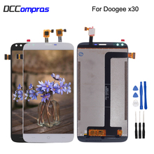 Original For Doogee X30 LCD Display Touch Screen Digitizer Assembly Phone Parts Free Tools