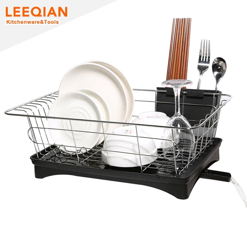 Стійка для страв з LeeQian з нержавіючої - Організація і зберігання в будинку