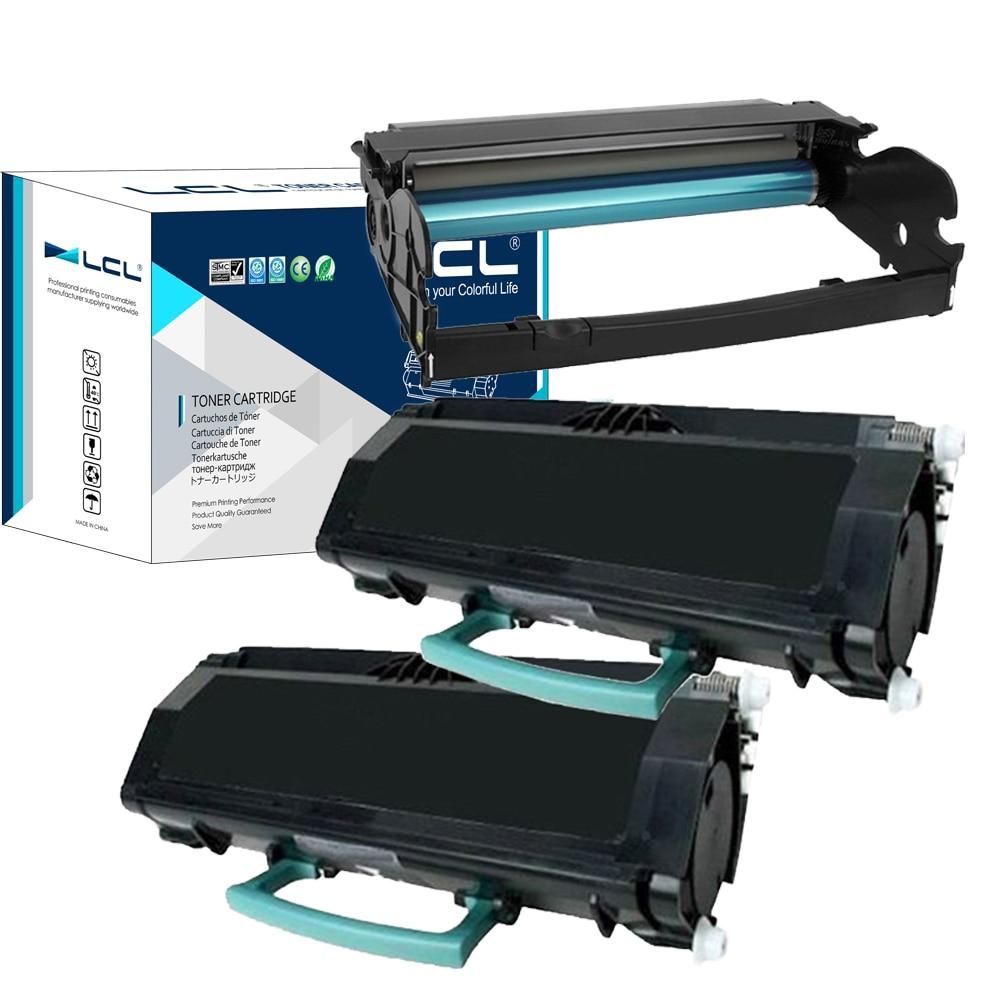 LCL E260X22G E260A11A E260A21A (3-Pack) Schwarz Kompatible Tonerkartusche für Lexmark E260d/260dn/360d/360dn/460dn/460dw/X264/363