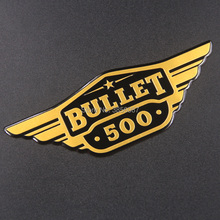 FASP Royal Enfield Motorbike Emblem Badge  aluminum standard high quality Decal & sticker for Bullet 500