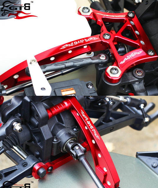 Aluminum Front Chassis Brace ,Rear Chassis brace ,Front Top Chassis Brace for LOSI DBXL