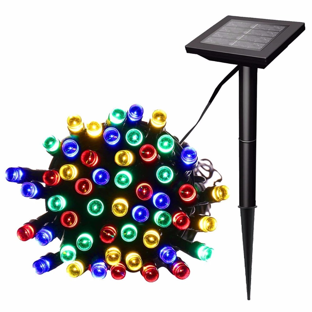 200/500 LEDs Outdoor Solar Lamps LED String Lights Fairy Holiday Christmas Party Garlands Solar Garden Waterproof not battery вода розовая ааша хербалс натуральная 200мл