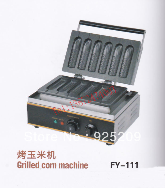 free shipping~ Electric corn hot dog maker, corn oven,Hot Dog Lolly Waffle maker machine