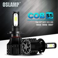 Oslamp NEW S5 Series H11 Auto LED Headlight For Car 6500K COB Chips SUV Fog Lamps