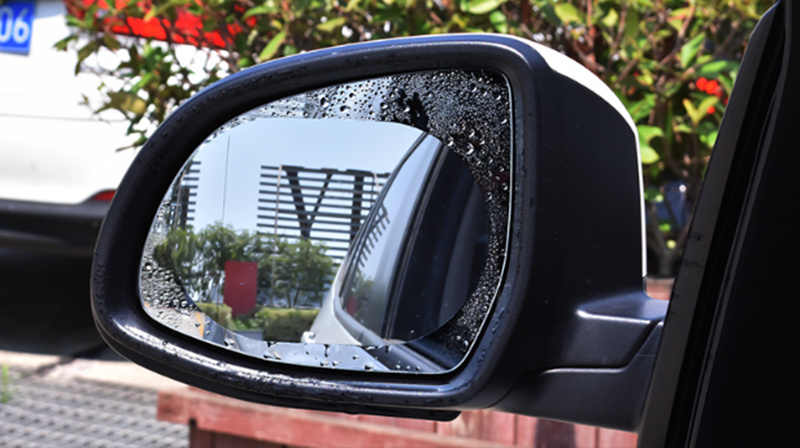 1 par coche impermeable espejo retrovisor película protectora para Mercedes Benz A180 A200 A260 W203 W210 W211 AMG W204 C E S CLS CLK DE LA CIA