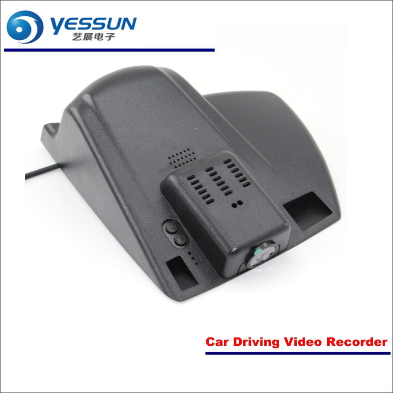 YESSUN Car DVR Driving Video Recorder For Ford For Mondeo Front Camera Black Box Dash Cam Plug 1080P WIFI APP Song IMX323 bigbigroad for ford mondeo 2015 high configuration car wifi dvr video recorder dash cam car black box keep car original style