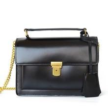 2017 Luxus-handtaschenfrauen-designer Vintage Crossbody Ketten Umhängetasche Split Leder Hohe Qualität Frauen Messenger Bags