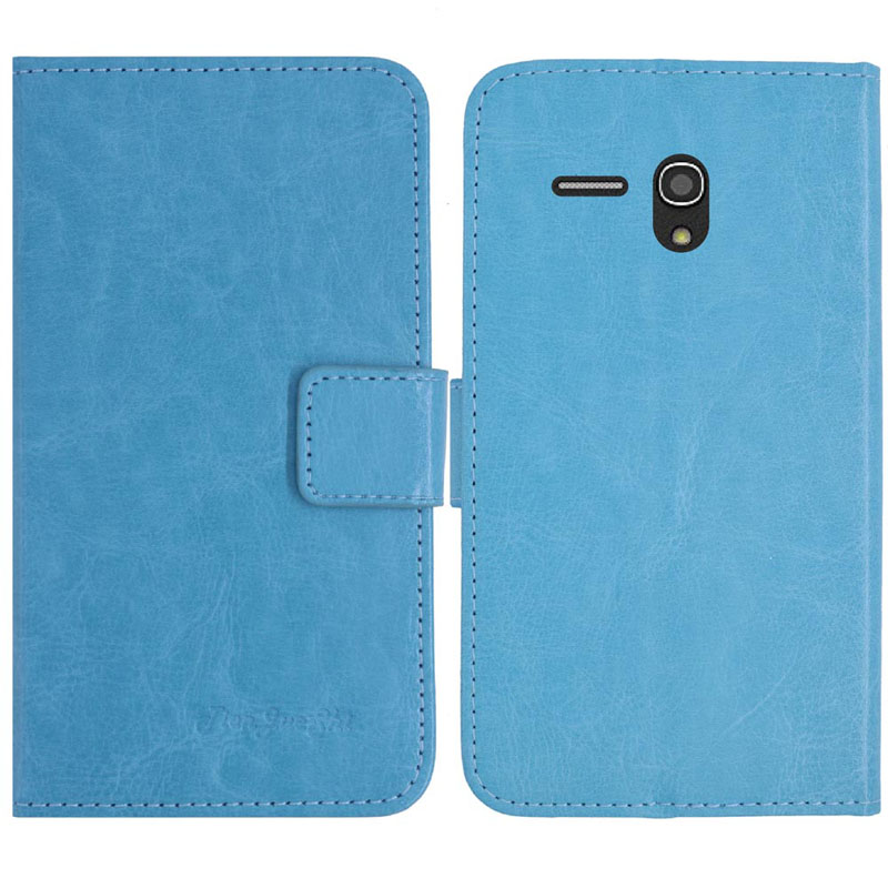 TienJueShi Flip Colour Book Stand Protect Leather Cover Shell Wallet Etui  Skin Case For GreatCall Jitterbug Smart 5 5 inch