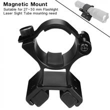 цена на MX02 Flashlight Magnetic Mounting Bracket with Dual Magnets for 27-30mm Flashlight Dim Range Assembly LED Flashlight And Tourch