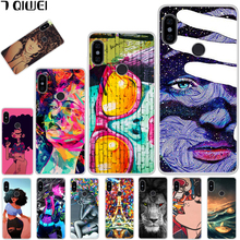 hot deal buy for xiaomi redmi note 6 pro case silicone soft tpu cool case for xiaomi redmi note 6 pro case redmi note 6 note6 pro case girl