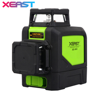 XEAST 8line laser level 3D Laser Level XE 902 360 Vertical And Horizontal Self leveling Cross Line Red Laser Level
