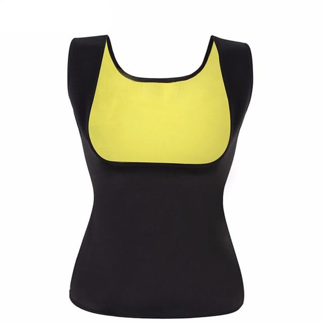 23c71e23b7 Plus Size Neoprene Sweat Sauna Hot Body Shapers Vest Waist Trainer Slimming  Vest Shapewear Weight Loss Waist Shaper Corset