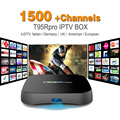 Octa Core Android Árabe IPTV CAJA T95RPRO Envío 1500 Europa Árabe IPTV Canales S912 2 GB/16 GB TV Box KODI Reproductor Multimedia WIFI H265