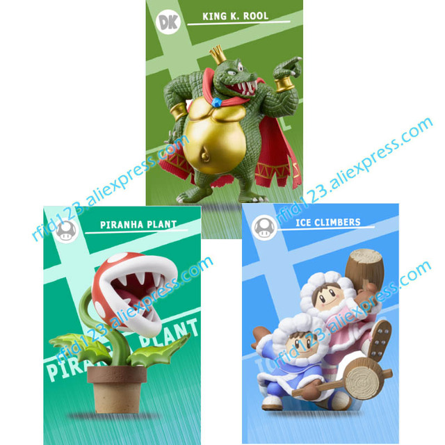 US $6 99 |3 New NFC Amiibo Card for Super Smash Bro -in Access Control  Cards from Security & Protection on Aliexpress com | Alibaba Group