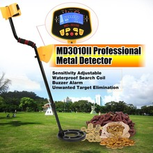 MD3010II Metal Detector Professional Portable Underground Handheld Treasure Hunter Gold Digger Finder LCD Display
