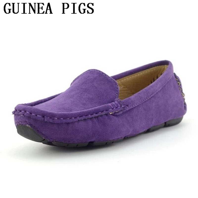 Spring and Summer Autumn Trend Boys Girls Casual Shoes Children's Leather Uppers Fashion Soft-Bottomed Shoes GUINEA PIGS