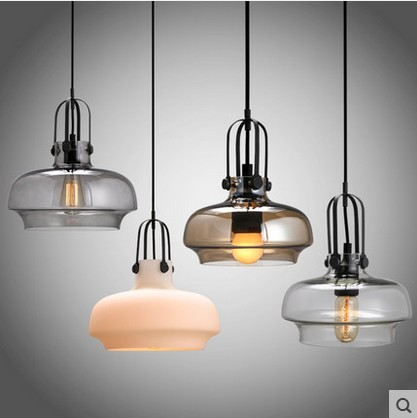 DIY Vintage Edison Pendant Light Industrial Ceiling Lamp Multi Color Cystal Glass Cafe Bar Loft Clothing Store Cafe Lighting dysmorphism iron vintage edison loft ceiling light industrial pendant cafe bar