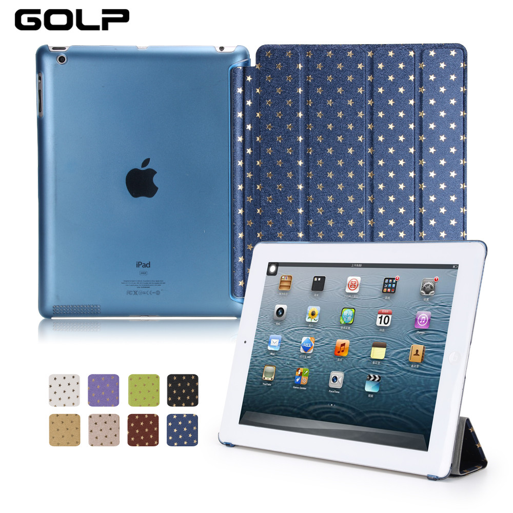 For Apple ipad 2 3 4 Case, Auto Sleep /Wake Up Smart Cover For New ipad 2/ for ipad 3 Flip Stand Holder Coque Case for ipad 4 for coque ipad 2 3 4 case flip fo the new pad 9 7 inch stand function